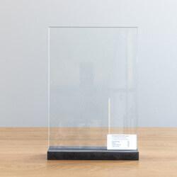 Helder glas 4mm (Standaard)