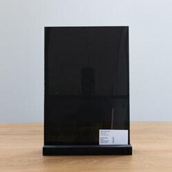 Zwart gehard glas
